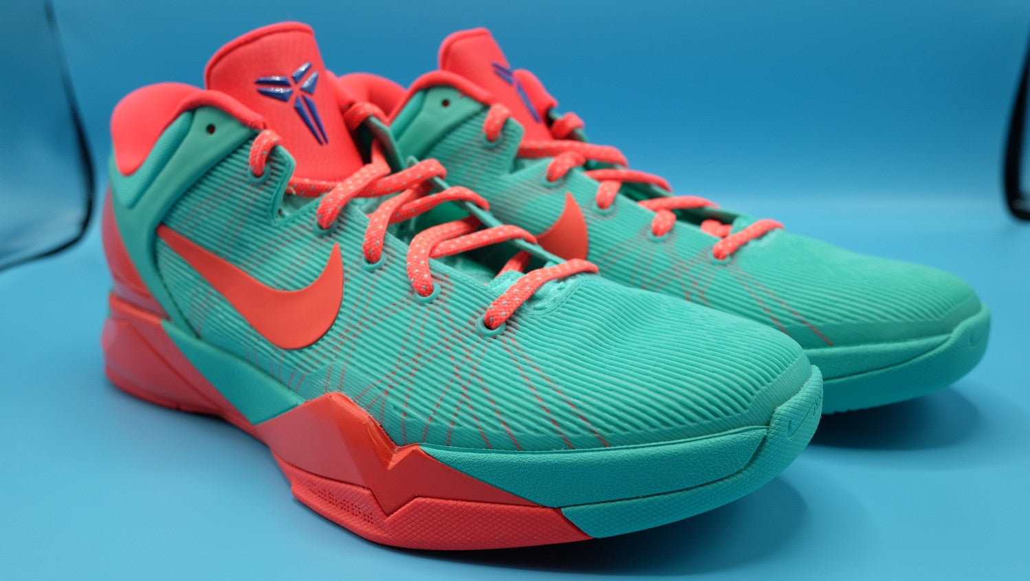 innovative design c72ed 82c16 Nike Zoom kobe 7   FC Barcelona Blue Teal   size 13(US)