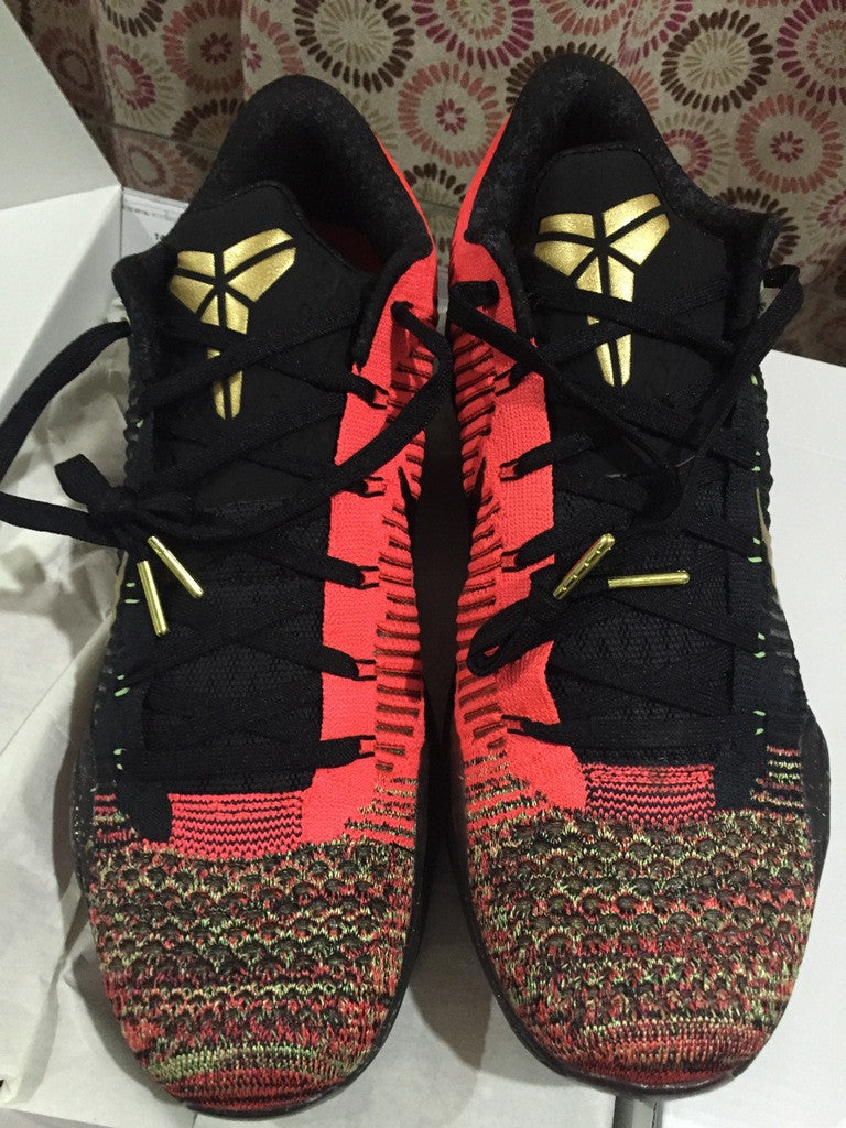 Nike Zoom kobe 10 Elite * Christmas – Dark Sole