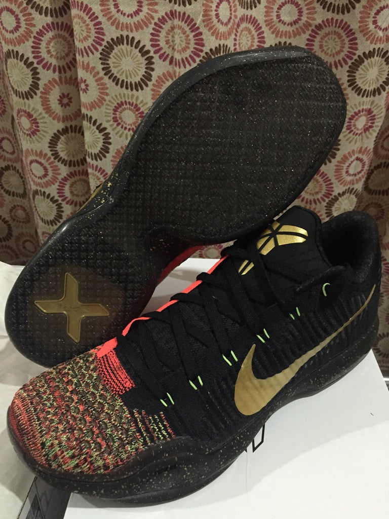 new arrival 6683e 7d2ff ... Nike Zoom kobe 10 Elite   Christmas DarkSole.net ...