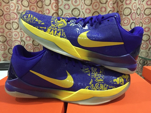 official photos a122b 40990 ... Nike Zoom kobe 5 ( V ) 5th RING Ring Ceremoy DarkSole.net (3 ...