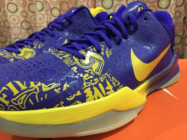 new arrival 85bee 7bf5f ... Nike Zoom kobe 5 ( V ) 5th RING Ring Ceremoy DarkSole.net (4 ...