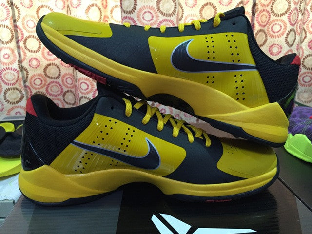huge selection of 857ce fec05 ... Nike Zoom kobe 5 Bruce Lee DarkSole.net (2) ...