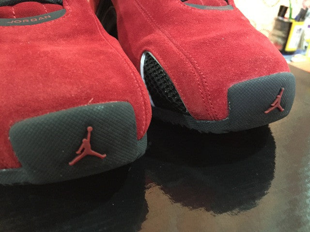 a8813fa10b5 Nike Air Jordan 21 Retro XXI   Red Suede – Dark Sole