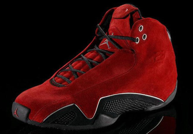 ... Nike Air Jordan 21 Retro XXI Red Suede Toro FootGrail.com 2af255c24