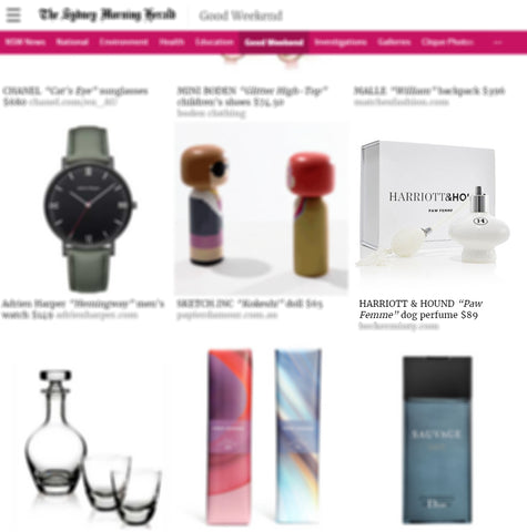 Sydney Morning Herald 2016 Christmas Gift Guide - Harriott and Hound