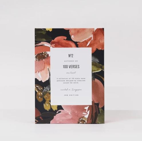 100 verses From The Heart (Second edition) Floral