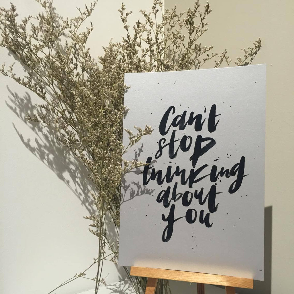 Poster - Can't stop