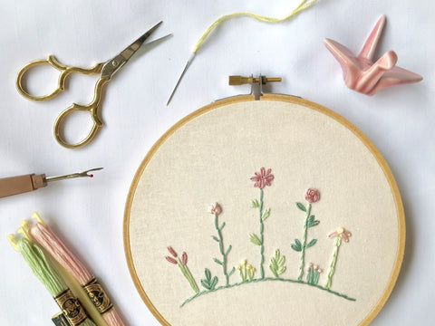 20 Nov 2019 (Wed 7-9pm) Workshop - Hand Embroidery by ALLY CRAFTS CO for 2 pax