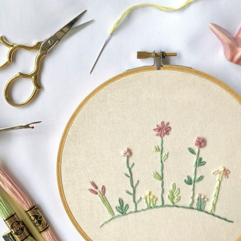 20 Nov 2019 (Wed 7-9 pm) Workshop - Hand Embroidery by ALLY CRAFTS CO