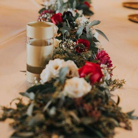 24 Dec 2018 Workshops - Christmas Table Flowers by 85 FLOWERS