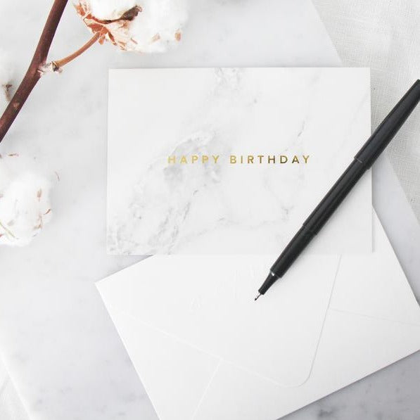 Actseed Marble Cards: Happy Birthday