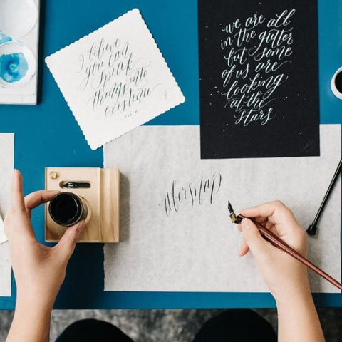27 Feb 2019 (Wednesday 7-9pm) Workshop - Modern Calligraphy By THE LETTER J SUPPLY