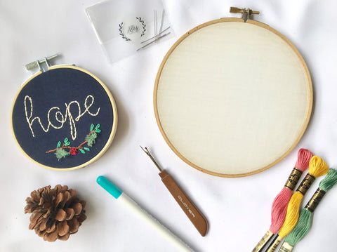 Workshop - Hand Embroidery by ALLY CRAFTS CO