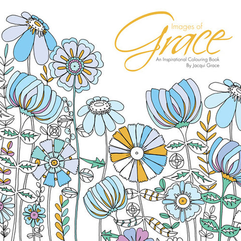 Images of Grace - Adult Colouring Book