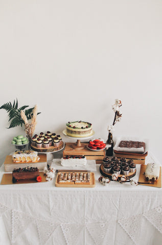 Dessert table - Fruitful Harvest