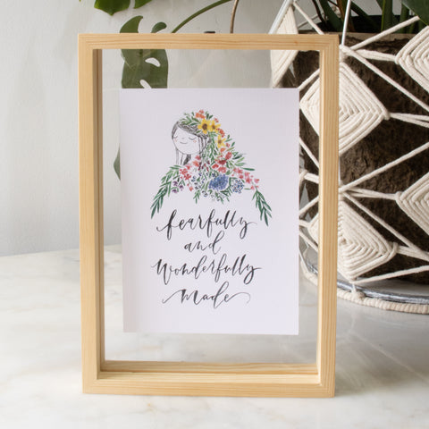A5 Poster: Fearfully and Wonderfully Made