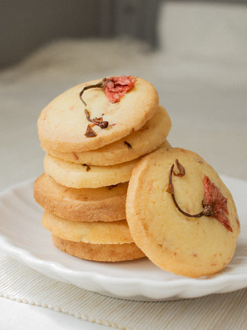 CNY Cherry Blossom Cookies