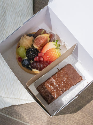 Tart & Brownie [Wedding Favours]