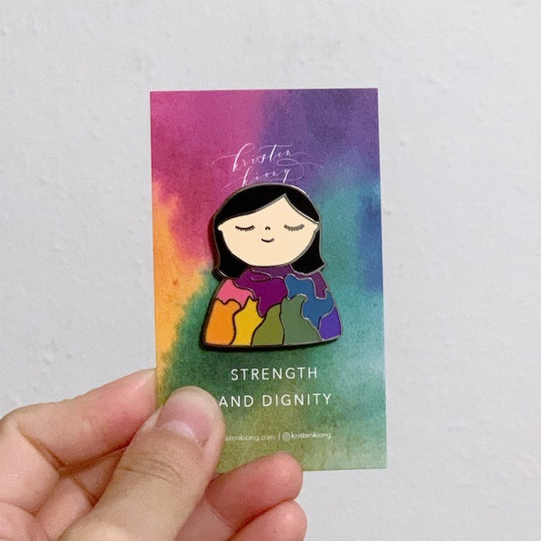 Strength and Dignity | Brooch