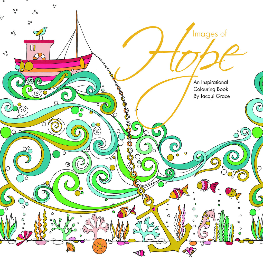 Images of Hope - adult colouring book