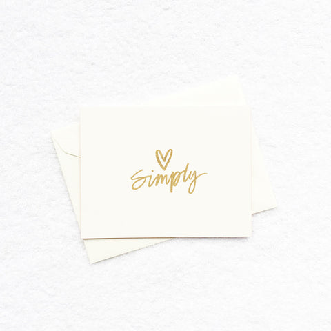 Card - Simply Love