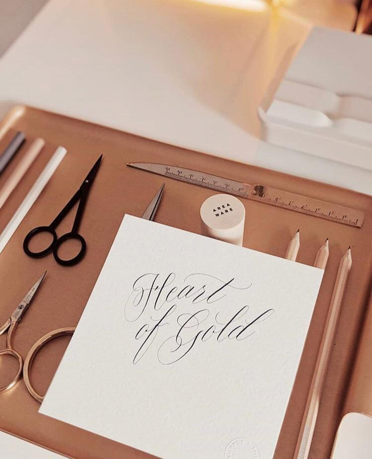 18 Apr 2019 (Thursday 7pm - 9pm) Workshop - Modern Calligraphy By THE LETTER J SUPPLY (2 pax)