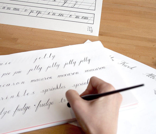 23 Mar 2019 (Saturday 10.30am - 1.30pm) Workshop - Modern Calligraphy By THE LETTER J SUPPLY (2 pax)