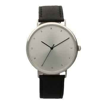 Foi En Dieu Watch : Patience (Black leather)