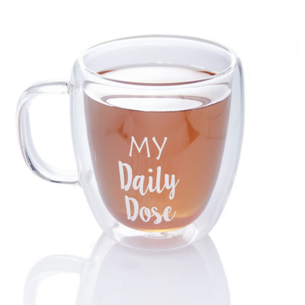 Stitches & Tweed Clear Mug