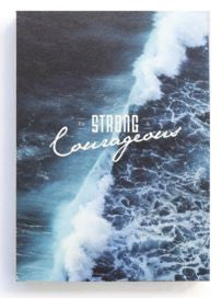 Notebook - Be Strong and Courageous