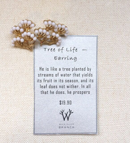Tree of Life - Earring