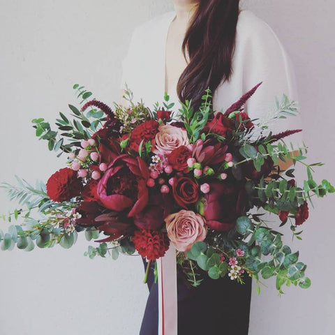 7 Nov 2019 (Thursday 7-9pm) Workshop - Floral Hand Tie Bouquet BY 85 FLOWERS