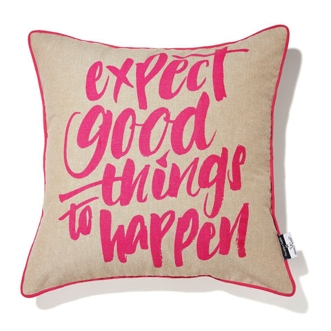 Cushion - Expect Good Things To Happen