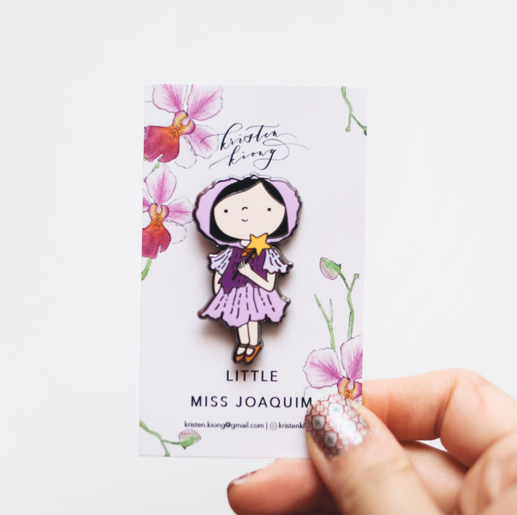 Little Miss Joaquim | Brooch