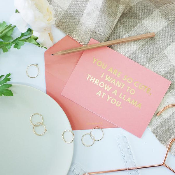 Actseed Quirky Compliments Card