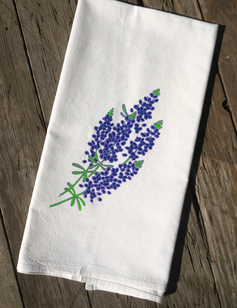 Texas Bluebonnet Flour Sack Towel