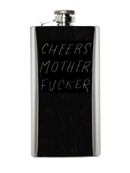CHEERS MOTHER FUCKER Flask