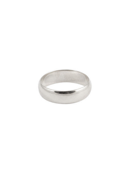 6mm Classic Band / Silver