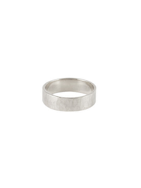 6mm Square Band / Silver