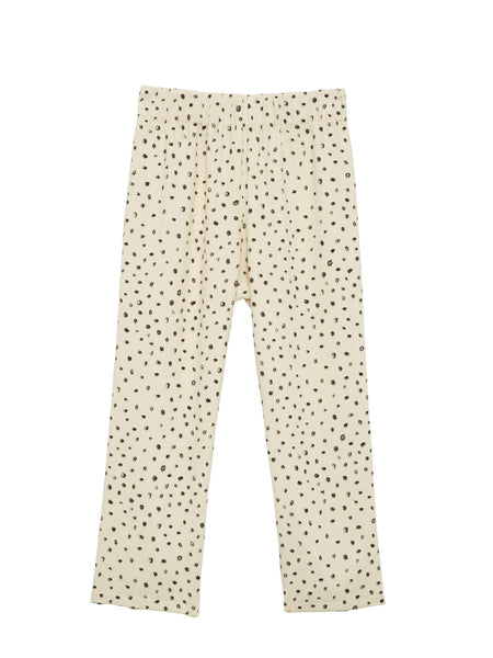 Deck Pants / Dot Crepe