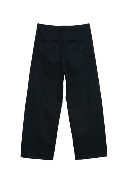 Diner Pants / Black Twill