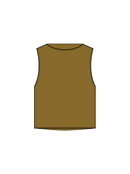 Station Tank / Gold Silk