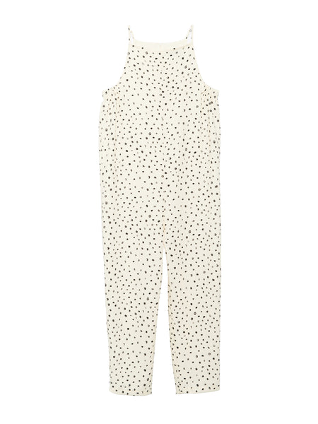 Yard Jumpsuit / Dot Crepe