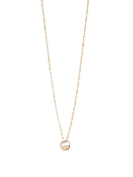 Breve Necklace / Gold