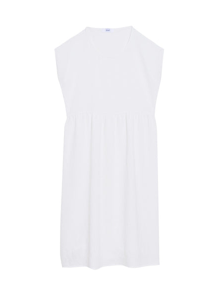 Donna Dress / White Twill