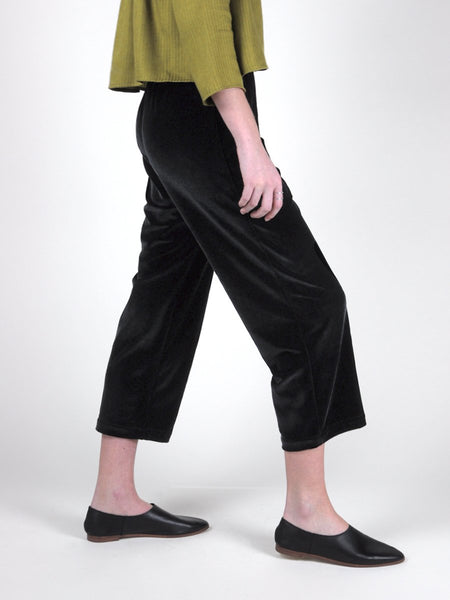 Beth - Deck Pants / Black Velvet