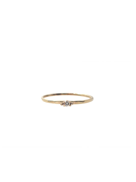 Diamond Krone Ring / Gold