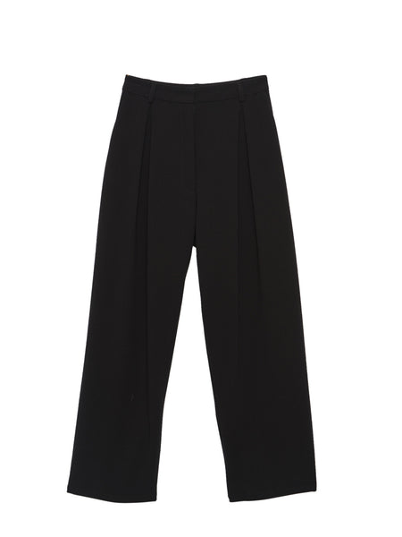 Fern Pants / Black Crepe