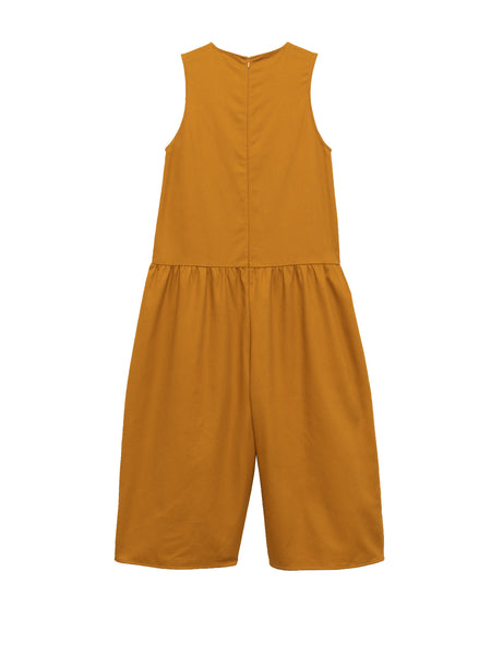 Louise Jumpsuit / Yellow Twill