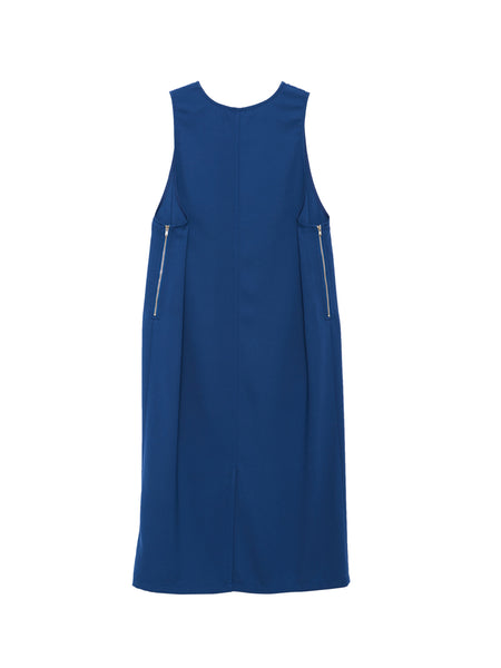 Ludo Dress / Blue Georgette
